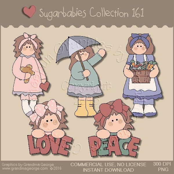 Sugarbabies Country Graphics Collection Vol. 161