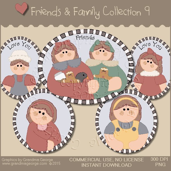 Friends & Family Graphics Collection Vol. 9