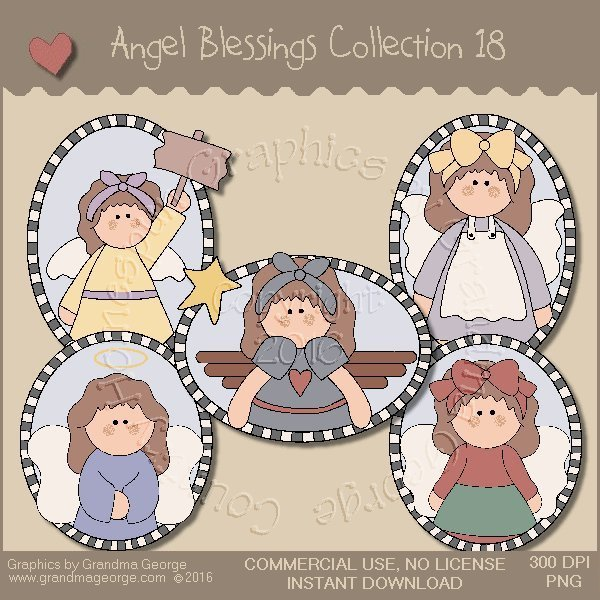 Angel Blessings Country Graphics Collection Vol. 18