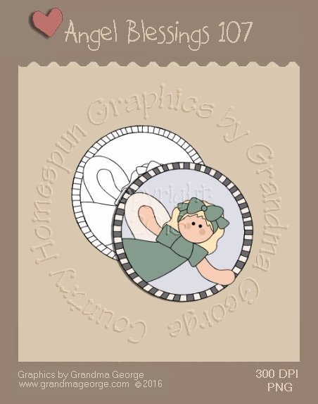 Angel Blessings Single Country Graphic 107