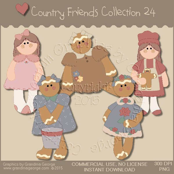 Country Friends Graphics Collection Vol. 24