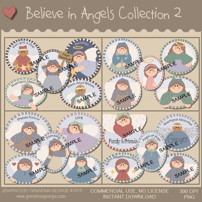 Believe in Angels Graphics Collection Vol. 2