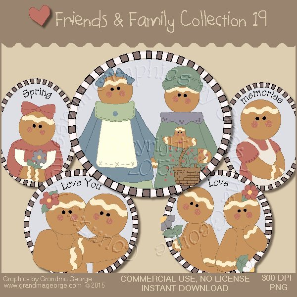 Friends & Family Graphics Collection Vol. 19