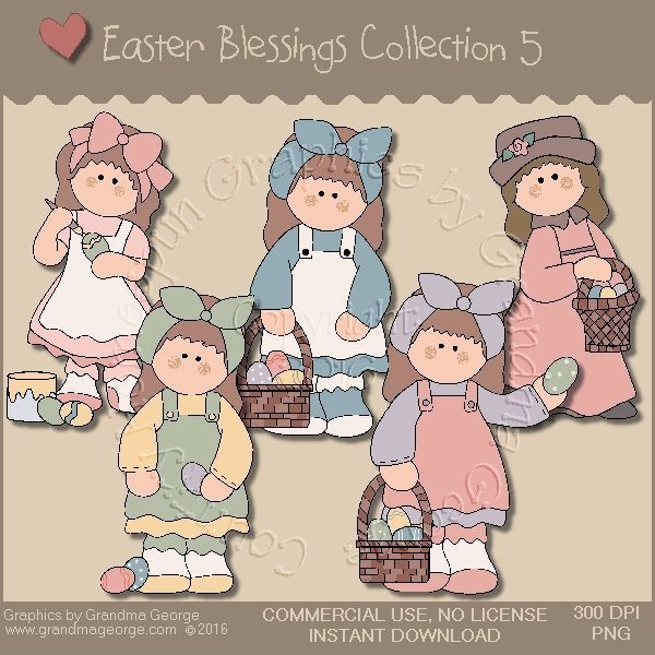 Easter Blessings Country Graphics Collection Vol. 5