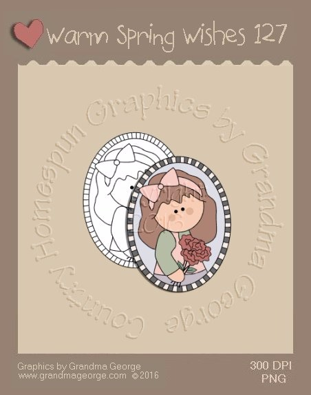 Warm Spring Wishes Single Country Graphic 127