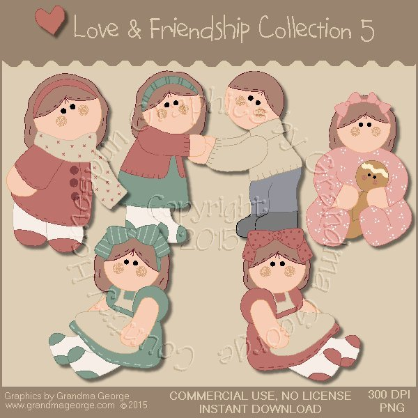 Love & Friendship Graphics Collection Vol. 5