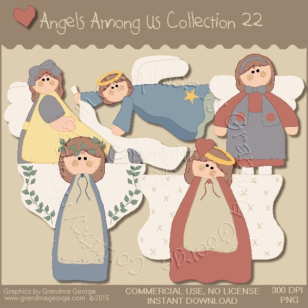 Angels Among Us Graphics Collection Vol. 22