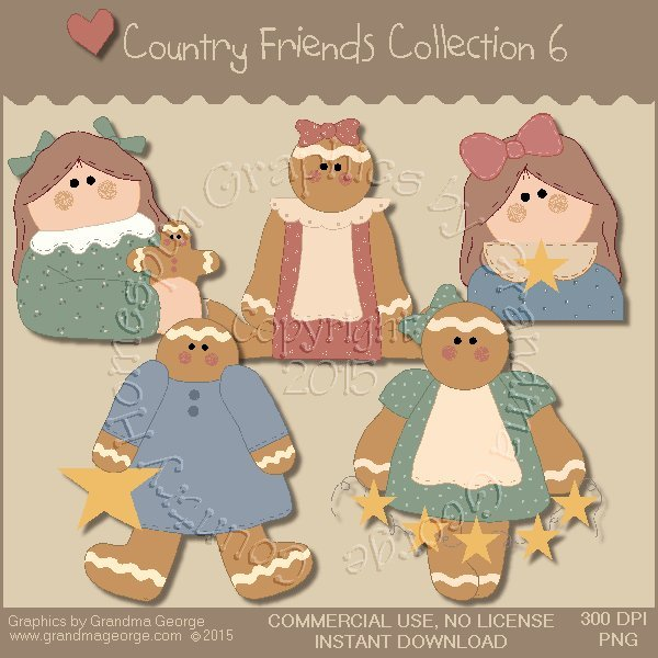 Country Friends Graphics Collection Vol. 6