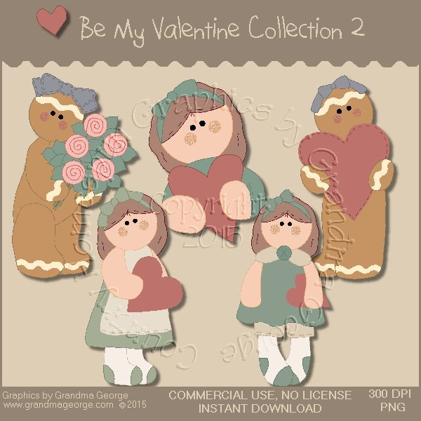 Be My Valentine Graphics Collection Vol. 2