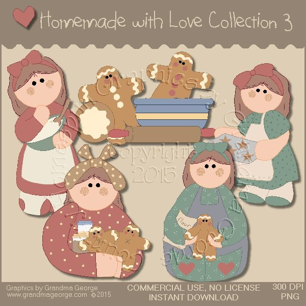 Homemade with Love Graphics Collection Vol. 3