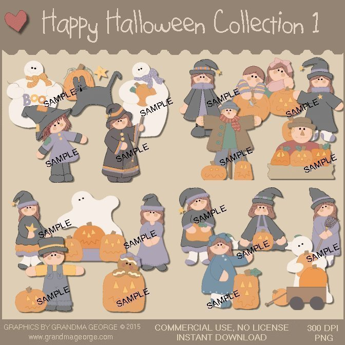 Happy Halloween Collection Vol. 1