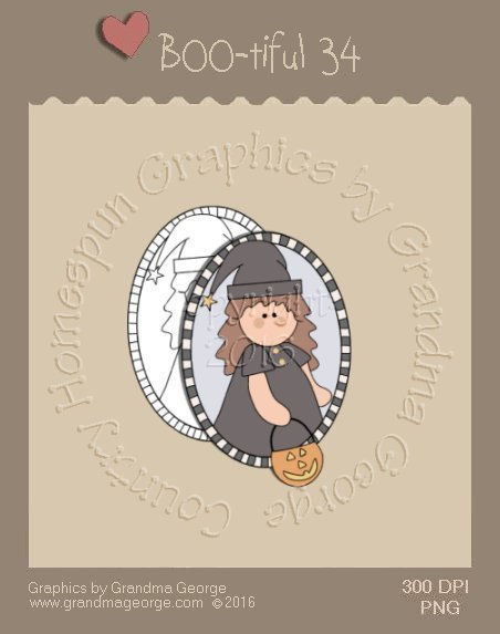 BOO-tiful - Halloween Single Country Graphic 34