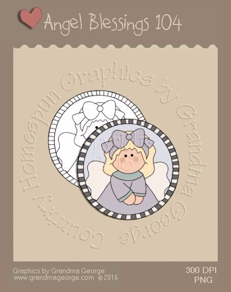 Angel Blessings Single Country Graphic 104