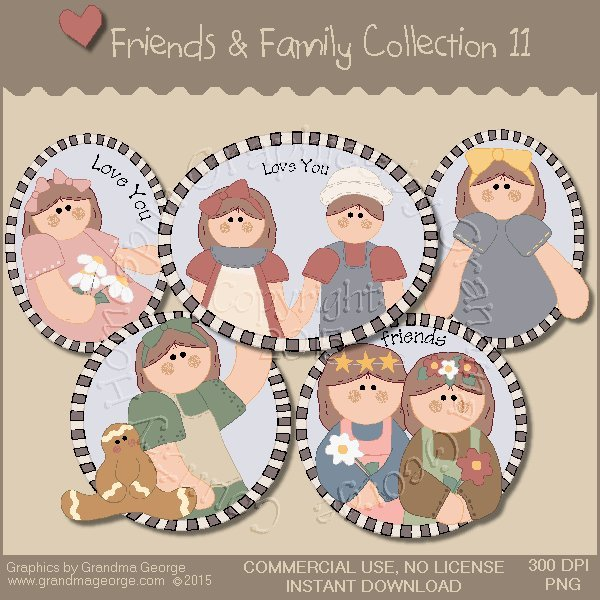 Friends & Family Graphics Collection Vol. 11