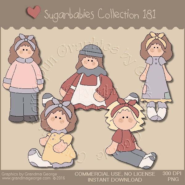 Sugarbabies Country Graphics Collection Vol. 181