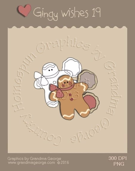 Gingy Wishes Single Country Graphic 19