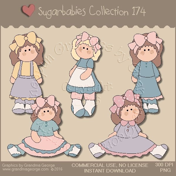 Sugarbabies Country Graphics Collection Vol. 174