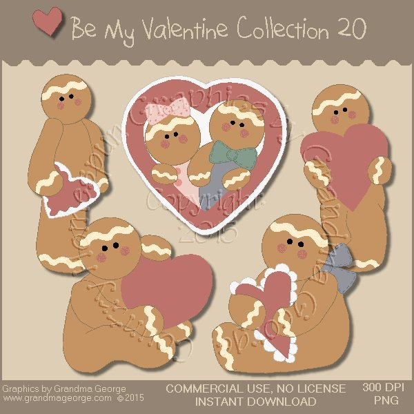 Be My Valentine Graphics Collection Vol. 20
