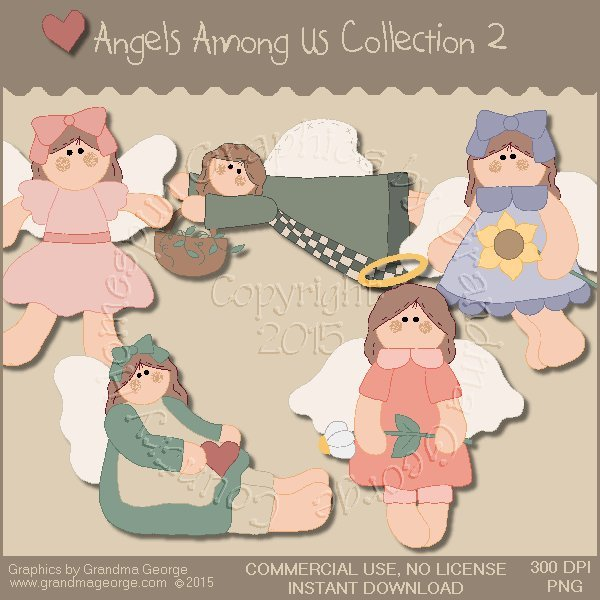 Angels Among Us Graphics Collection Vol. 2