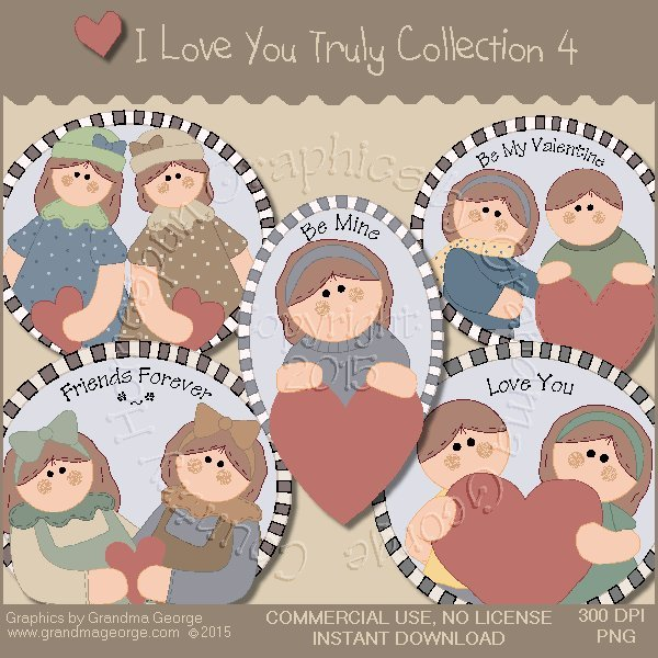 I Love You Truly Graphics Collection Vol. 4