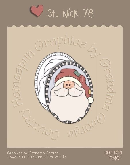 St. Nick Single Country Graphic 78