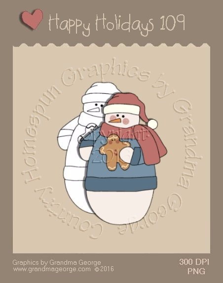 Happy Holidays Christmas Single Country Graphic 109