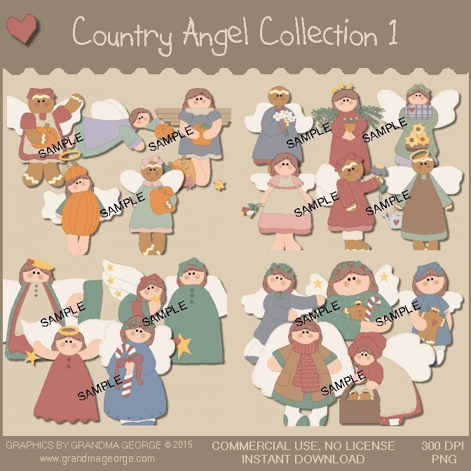 Country Angel Graphics Collection Vol. 1