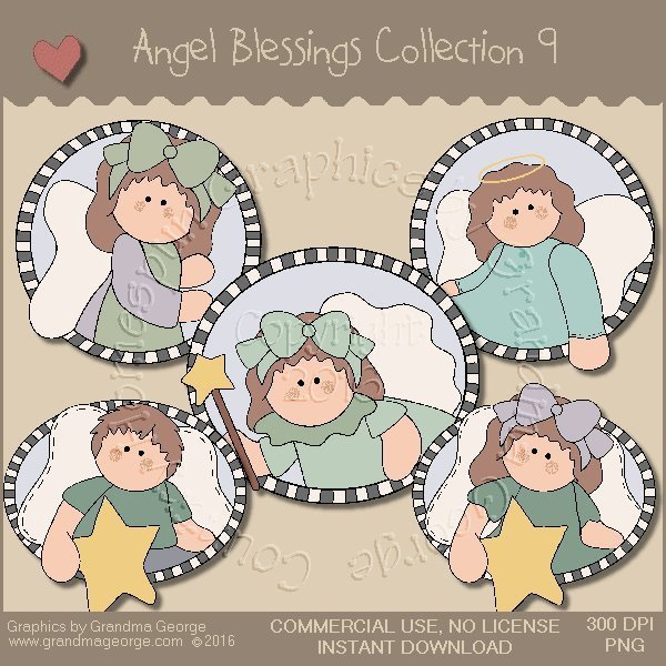 Angel Blessings Country Graphics Collection Vol. 9
