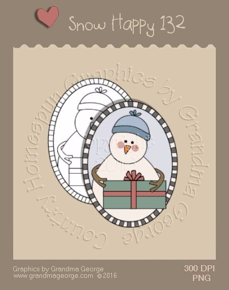 Snow Happy Single Country Graphic 132