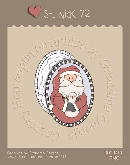 St. Nick Single Country Graphic 72
