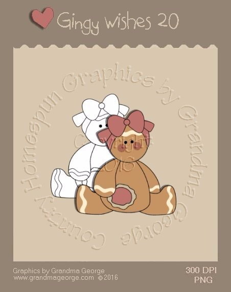 Gingy Wishes Single Country Graphic 20