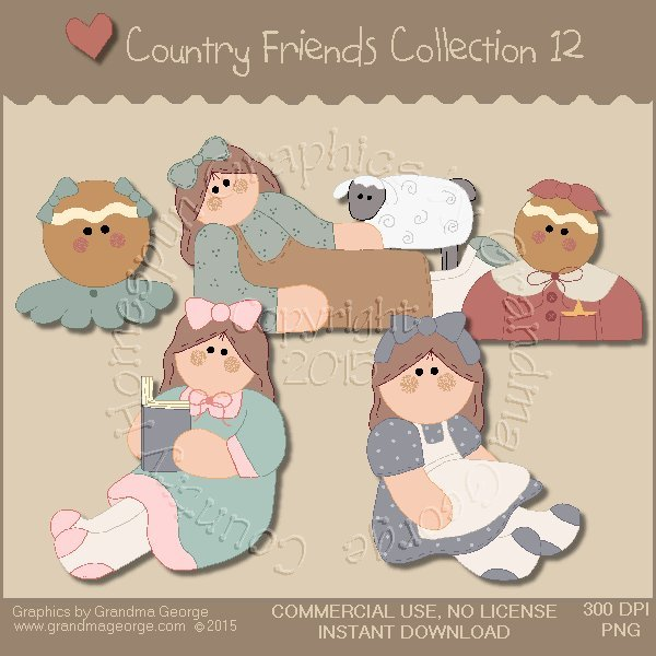 Country Friends Graphics Collection Vol. 12