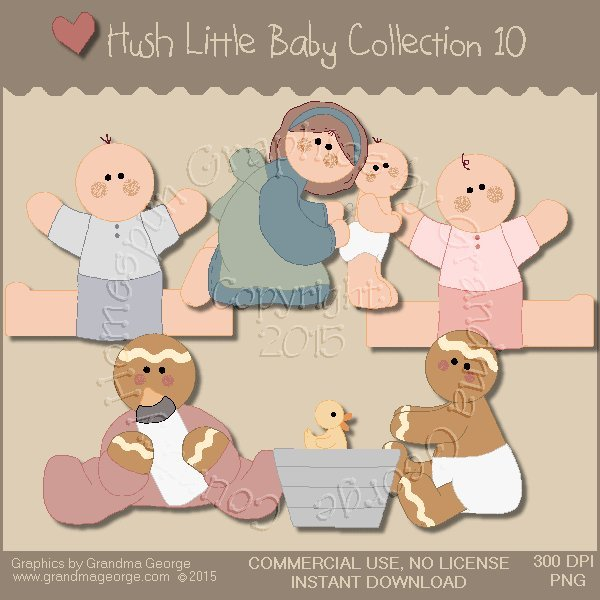 Hush Little Baby Graphics Collection Vol. 10