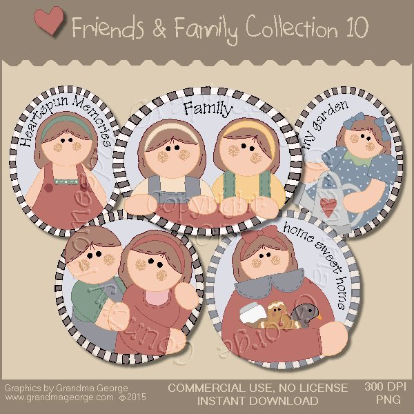 Friends & Family Graphics Collection Vol. 10