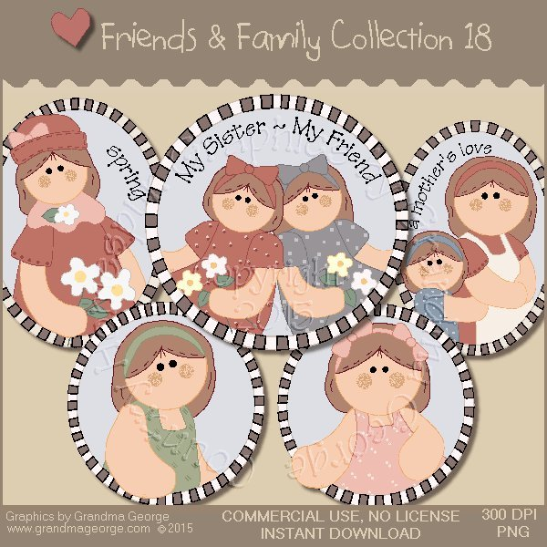 Friends & Family Graphics Collection Vol. 18