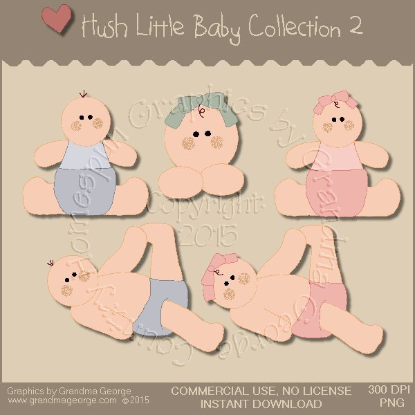 Hush Little Baby Graphics Collection Vol. 2
