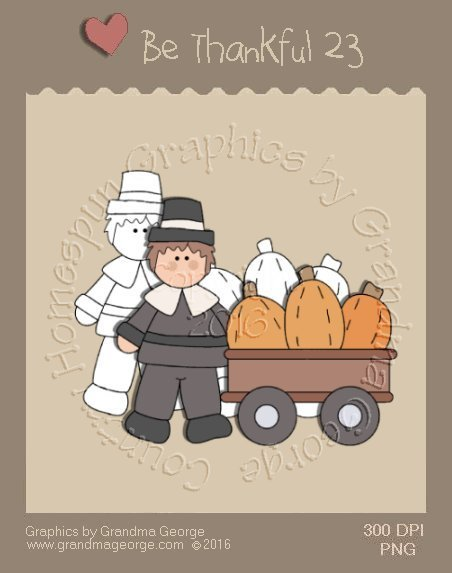 Be Thankful - Thanksgiving Single Country Graphic 23