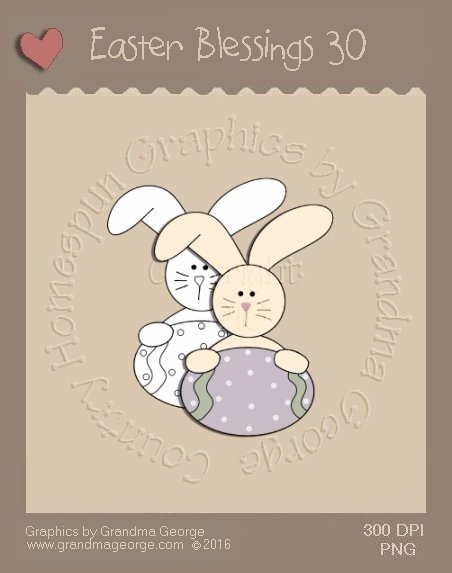 Easter Blessings Single Country Graphic 30