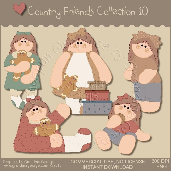 Country Friends Graphics Collection Vol. 10
