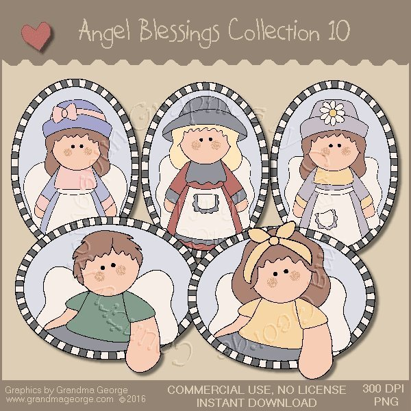 Angel Blessings Country Graphics Collection Vol. 10