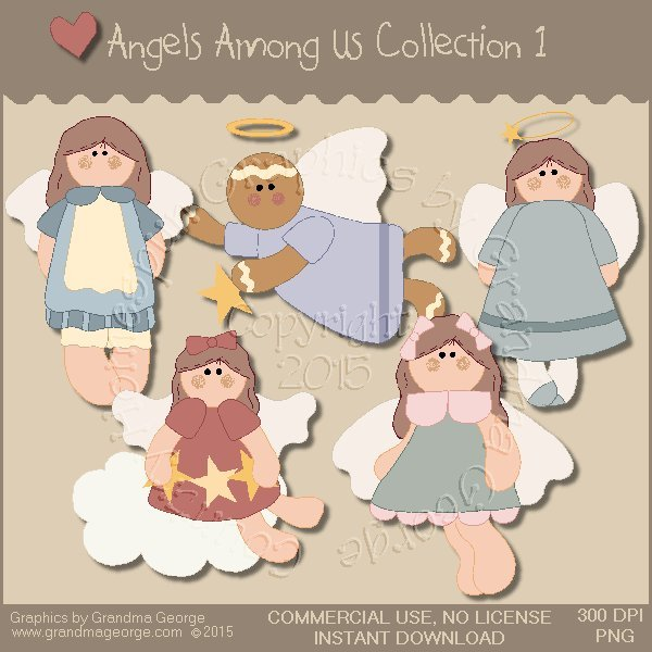 Angels Among Us Graphics Collection Vol. 1
