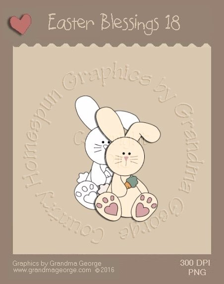 Easter Blessings Single Country Graphic 18