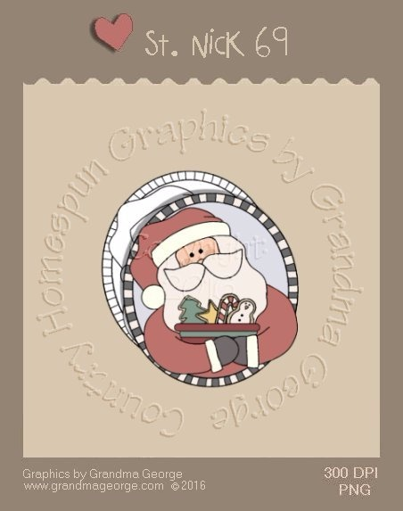 St. Nick Single Country Graphic 69