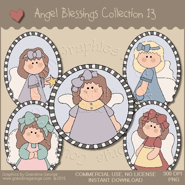 Angel Blessings Country Graphics Collection Vol. 13