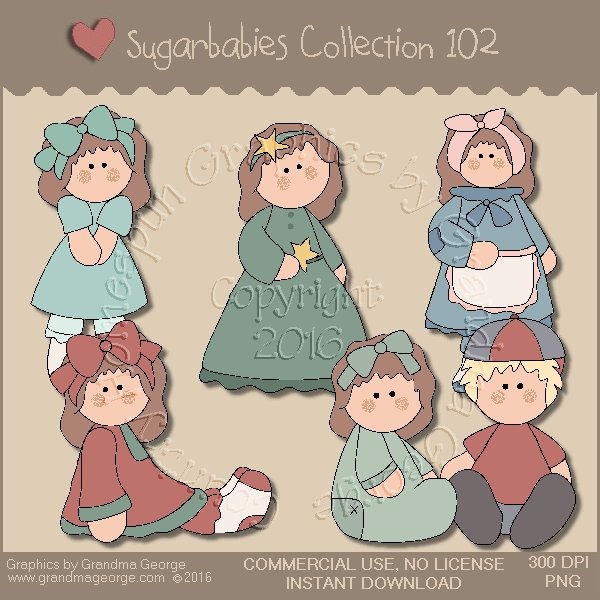Sugarbabies Country Graphics Collection Vol. 102