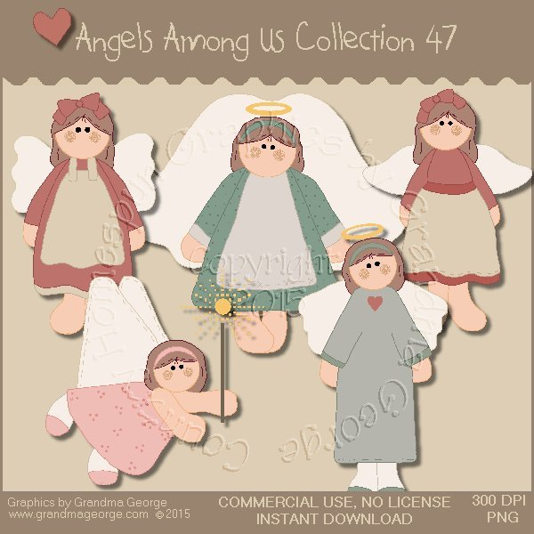 Angels Among Us Graphics Collection Vol. 47