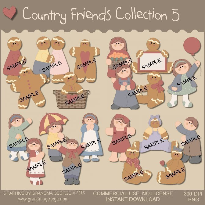 Country Friends Graphics Collection Vol. 5