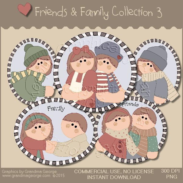 Friends & Family Graphics Collection Vol. 3