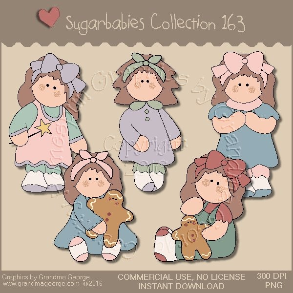 Sugarbabies Country Graphics Collection Vol. 163