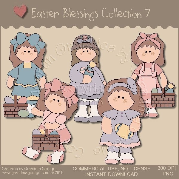 Easter Blessings Country Graphics Collection Vol. 7